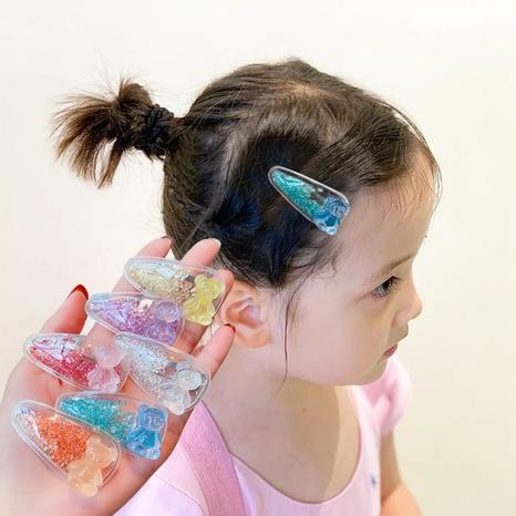 Joyería al por mayor de los niños de las lentejuelas transparente horquilla Nihaojewelry NHNA383855's discount tags