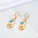 Nihaojewelry wholesale jewelry fashion irregular eye geometric alloy  earrings  NHGO383959