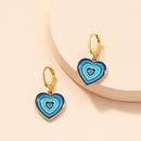 Nihaojewelry wholesale jewelry simple fashion multilayer heart alloy earrings  NHAI384107