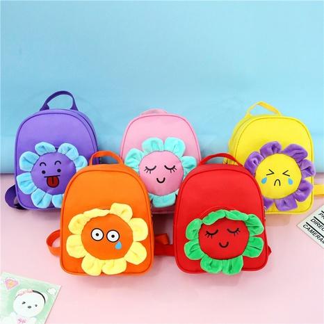 Wholesale Cartoon Sun Flower Children's Backpack Nihaojewelry NHTG384245's discount tags