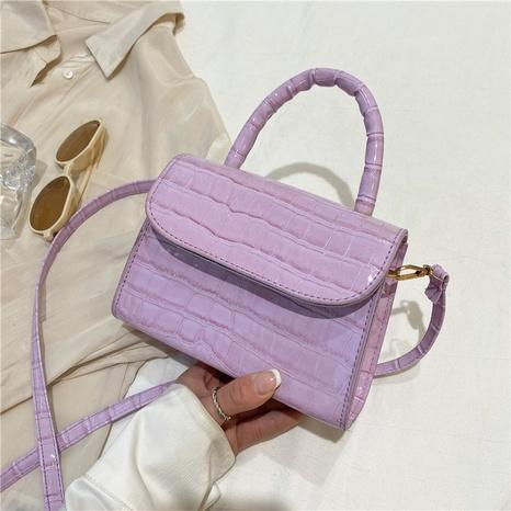 Nihaojewelry Korean Style Stone Pattern Chain Shoulder Messenger Handbags NHRU384309's discount tags