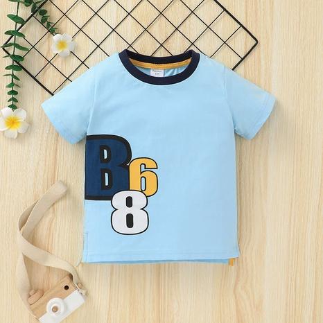 Al por mayor camisetas de manga corta para niños de verano Nihaojewelry NHLF384504's discount tags