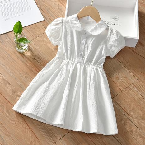 Al por mayor falda blanca de color sólido para niños Nihaojewelry NHLF384513's discount tags