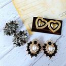 wholesale jewelry gem drip glaze beads pearl earrings nihaojewelry  NHOM385098