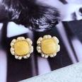 NHOM1784978-Orange-drip-glaze-ring-of-pearl-stud-earrings-2C