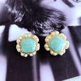 NHOM1784979-Light-blue-drip-glaze-ring-pearl-stud-earrings-2
