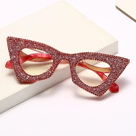 Vente en gros lunettes de soleil en forme d'œil de chat nihaojewelry NHMSG385833's discount tags