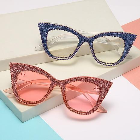 Vente en gros lunettes de soleil en forme d'oeil de chat nihaojewelry NHMSG385851's discount tags