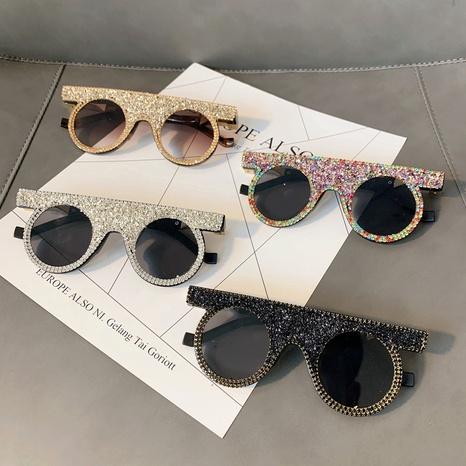Vente en gros lunettes de soleil à lentilles rondes à la mode nihaojewelry NHMSG385876's discount tags