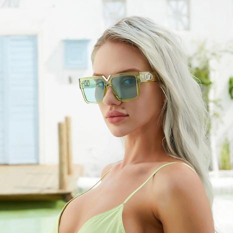 vente en gros grandes lunettes de soleil à monture carrée nihaojewelry NHLMO385973's discount tags
