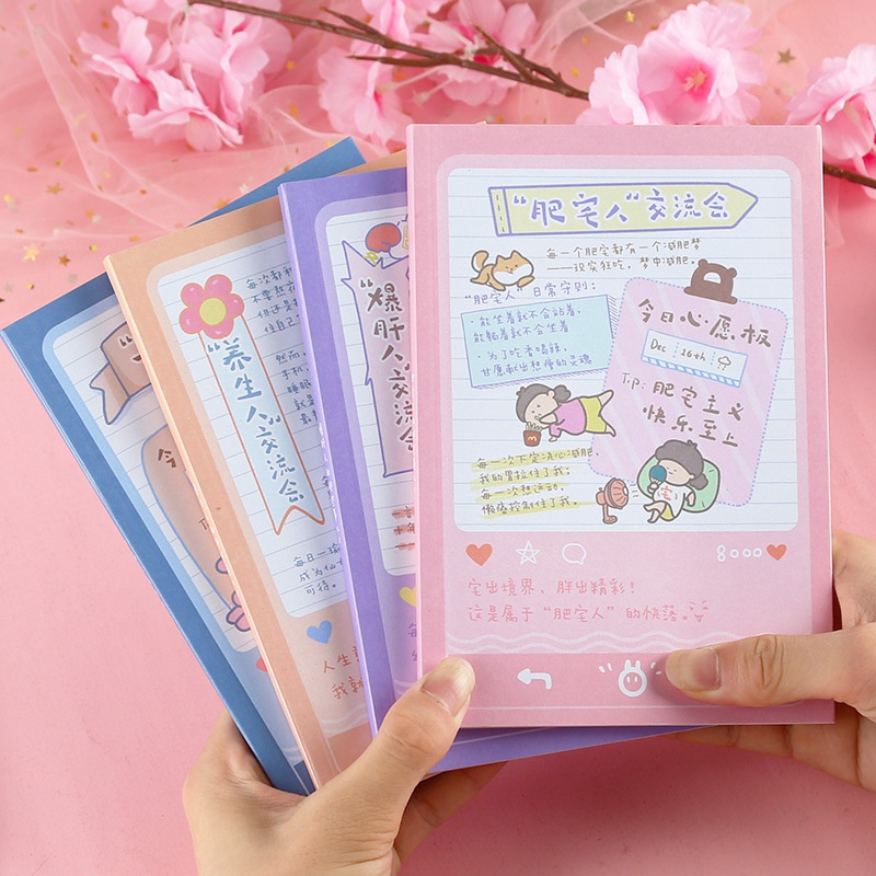 wholesale cute cartoon color page notebook Nihaojewelry NHDW386079