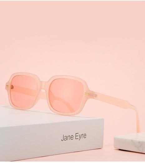Vente en gros lunettes de soleil à monture carrée couleur bonbon rétro nihaojewelry NHZIH385433's discount tags