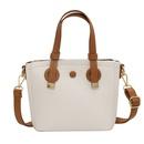 wholesale clashing color messenger bucket bag Nihaojewelry NHLH386248