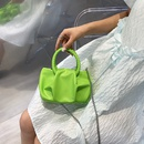 wholesale solid color fold cloud chain messenger bag Nihaojewelry NHLH386295