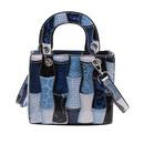 wholesale clashing color bucket messenger bag Nihaojewelry NHRU386406