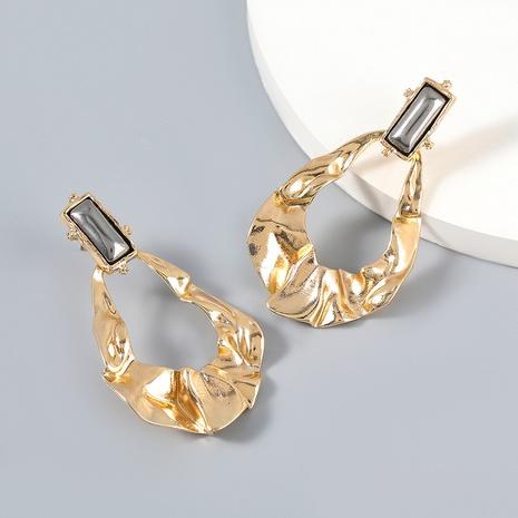 wholesale jewelry bump texture alloy earrings Nihaojewelry NHJE387140's discount tags