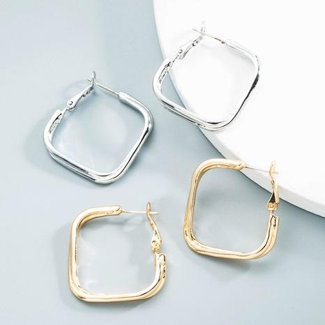Großhandel Schmuck geometrische Vergoldung Ohrringe Nihaojewelry NHLN387235's discount tags