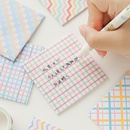wholesale accessories cute plaid postit notes Nihaojewelry NHZE377731