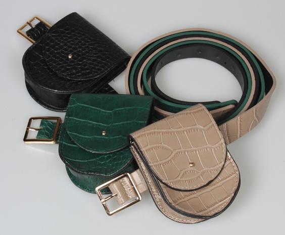 nihaojewelry Großhandel Mode einfarbig mit Gürteltasche NHJSR377757's discount tags