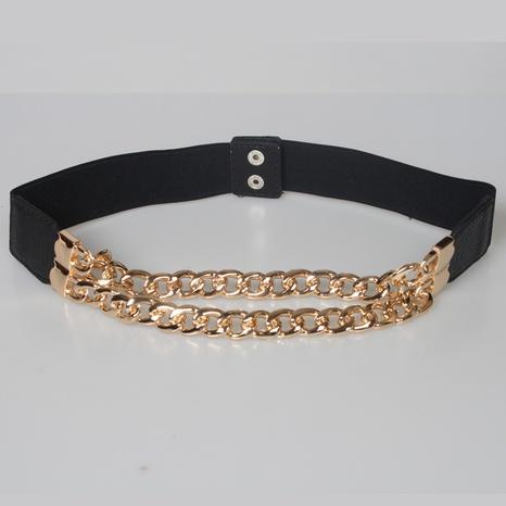 nihaojewelry Großhandel Mode Korsett Taille elastischer Kettengürtel NHJSR377759's discount tags