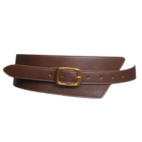 Großhandelszubehör einfache schwarz taillierte unregelmäßige breite Gürtel Nihaojewelry NHJSR377761's discount tags