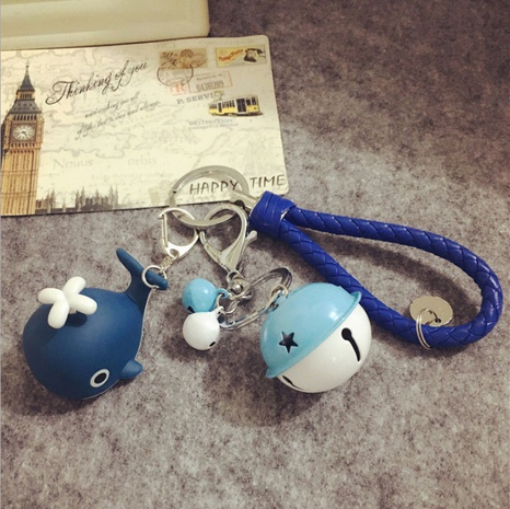 nihaojewelry cute luminous sounding whale doll keychain wholesale NHQYF377788's discount tags
