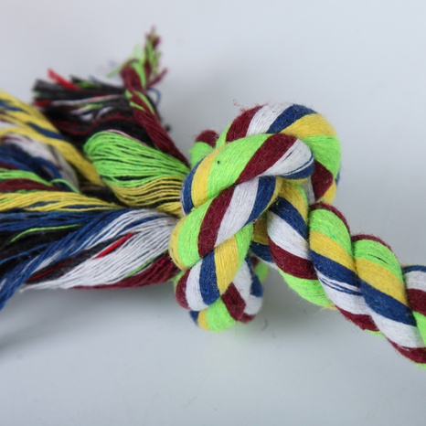 wholesale accessories double knot cotton rope dog toy Nihaojewelry NHWY377751's discount tags