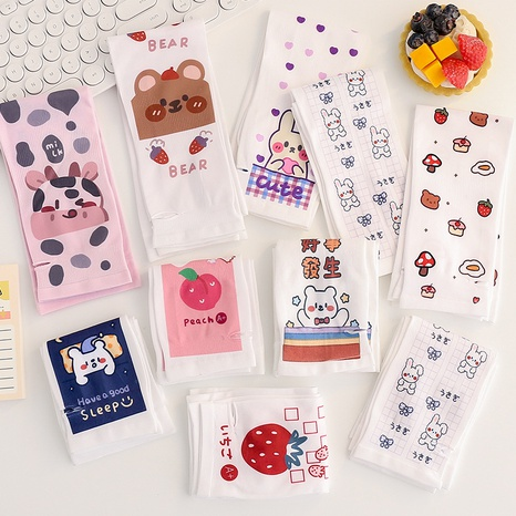 nihaojewelry cute cartoon sunscreen gloves ice silk arm sleeves wholesale  NHZE377736's discount tags