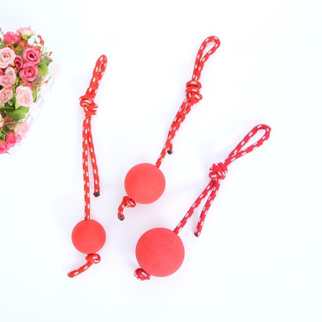 Wholesale Accessories Solid Bouncy Ball Pet Toy Nihaojewelry NHWY377748's discount tags