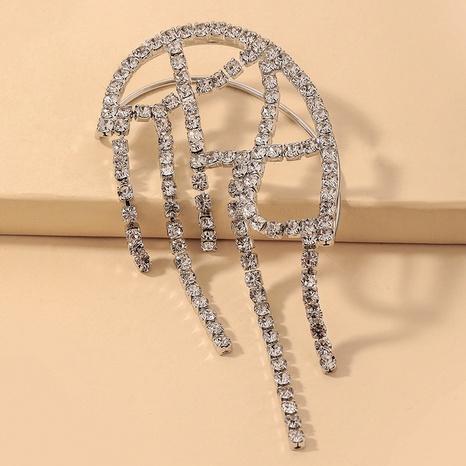 Großhandel Schmuck Mode voller Strasssteine Quaste Ohr Knochen Clip Nihaojewelry NHNJ387353's discount tags