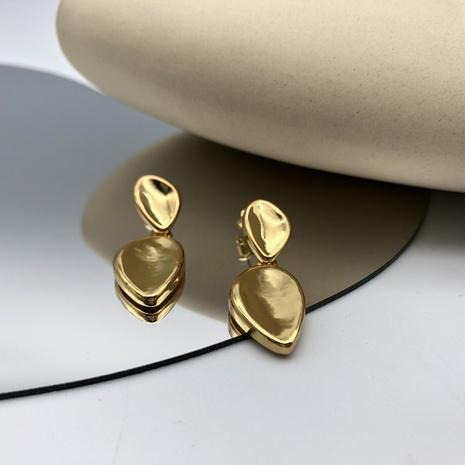 Nihaojewelry wholesale jewelry fashion 18k gold geometric long earrings  NHGI387449's discount tags