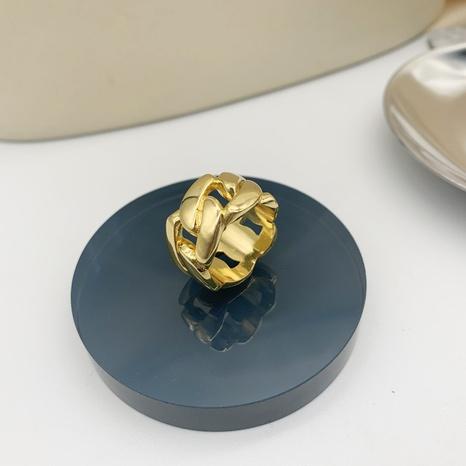 Al por mayor joyería geométrica anillo de cobre hueco Nihaojewelry NHGI387454's discount tags