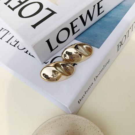 Nihaojewelry venta al por mayor joyería moda cobre plateado con aretes de oro real NHGI387458's discount tags