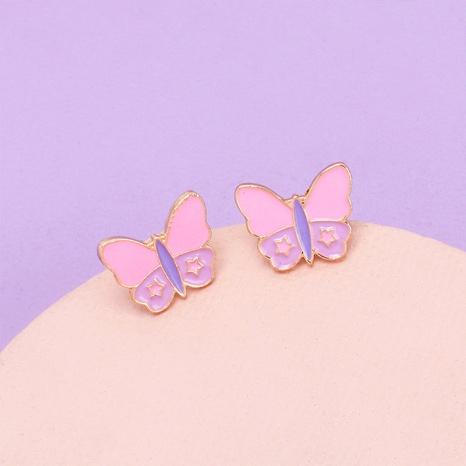 Nihaojewelry Großhandel Schmuck Mode tropfende Schmetterlingslegierung Ohrringe NHRN387639's discount tags