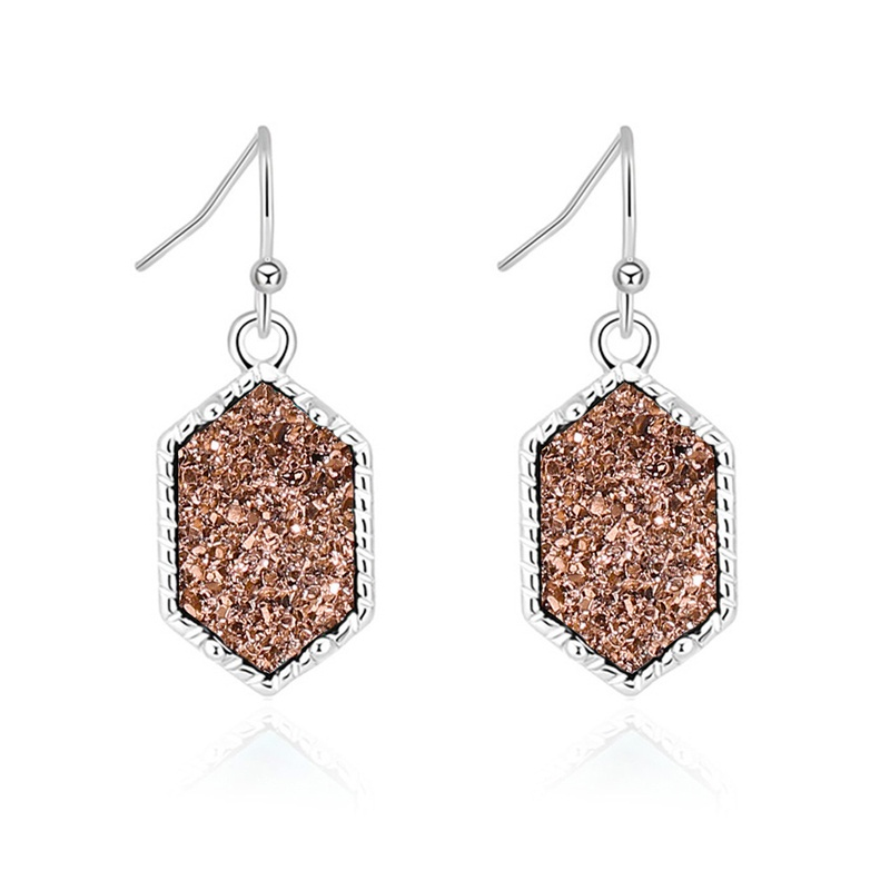 wholesale jewelry fashion colorful crystal cluster earrings necklace bracelet Nihaojewelry NHDB387641