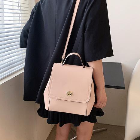 Al por mayor mochila portátil de moda con textura de bloqueo de color golpe NHTG388384's discount tags