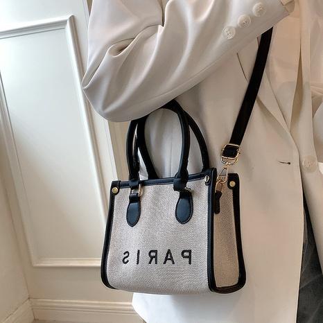 La bolsa de asas de gran capacidad de París de la letra de la moda al por mayor de Nihaojewelry NHTG388408's discount tags