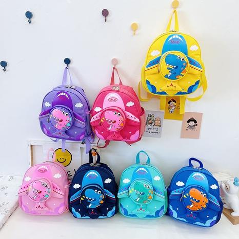 wholesale cartoon children's dinosaur backpack Nihaojewelry NHTG388425's discount tags