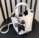 wholesale fashion texture solid color single shoulder handbag Nihaojewelry NHLH388444