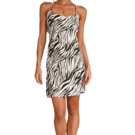 Robe d'été à bretelles fines pour femmes NHWA393522's discount tags