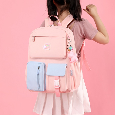 Wholesale Candy Color Children's Multi-function Backpack Nihaojewelry NHTG388397's discount tags
