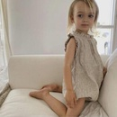 Baby Rompers Wholesale lace collar solid color cotton and linen baby girl clothes NHWU388814