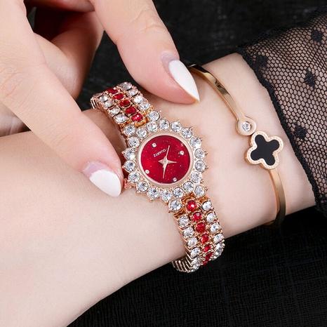 Großhandel neuer Sternenhimmel voller Diamanten kleines Zifferblatt Uhr Nihaojewelry NHBOJ389845's discount tags