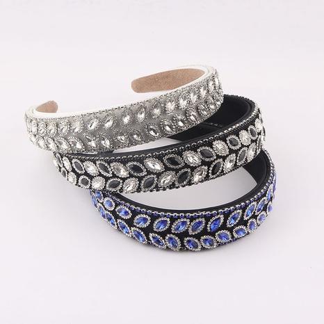 wholesale jewelry Baroque diamond-studded geometric headband Nihaojewelry NHWJ389707's discount tags