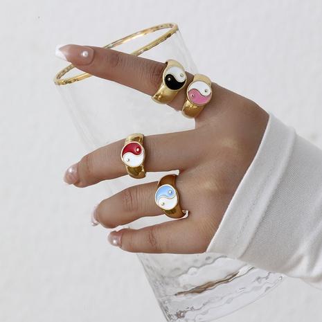 Aleación chisme multicolor anillo retro joyería al por mayor Nihaojewelry NHYIA389734's discount tags