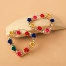 wholesale jewelry hollow heartshaped flower earrings nihaojewelry  NHYIA389735
