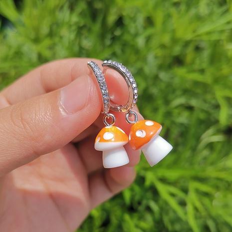 Al por mayor joyería en forma de hongo pendientes colgantes nihaojewelry NHYIA389746's discount tags