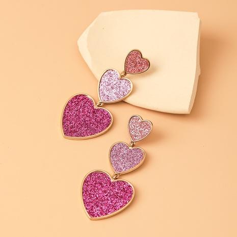 Al por mayor joyería corazón empalme pendientes colgantes nihaojewelry NHYIA389744's discount tags