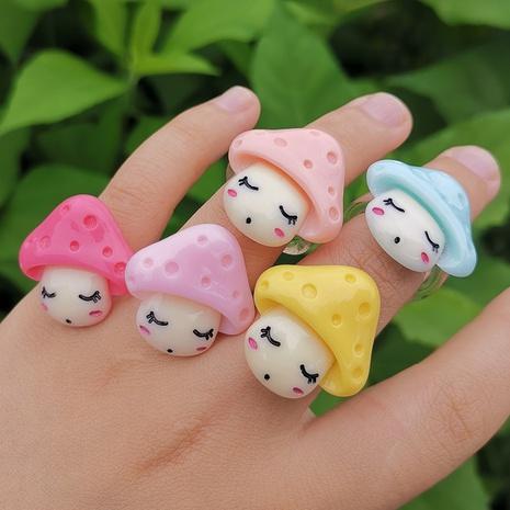 color seta resina anillo lindo joyería al por mayor Nihaojewelry NHYIA389749's discount tags