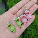 wholesale jewelry frog shape pendant earrings nihaojewelry  NHYIA389752